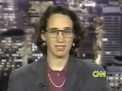 NAMBLAs History in the ILGA - Julie Dorf on Larry King Live - 1993