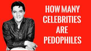 How Many Celebrities are Pedophiles